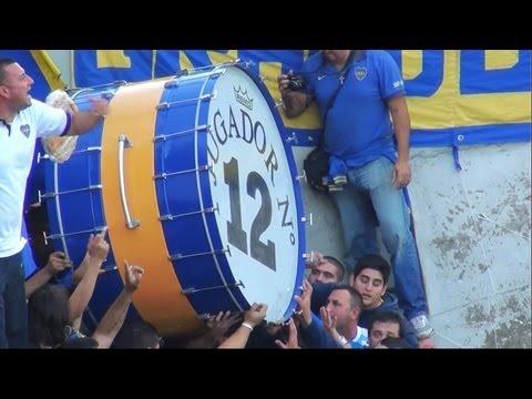 Video - Superclasico 2013 / Entra La 12 - La 12 - Boca Juniors - Argentina