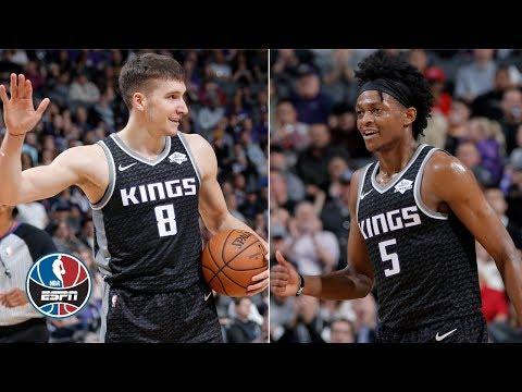 Video: Sacramento Kings' bench erupts for season-high 80 points in win vs. Atlanta Hawks | NBA Highlights