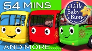 Wheels On The Bus | Plus Lots More Nursery Rhymes | 54 Minutes Compilation from LittleBabyBum! full download video download mp3 download music download