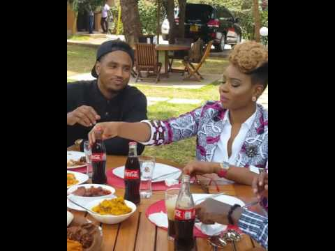 Download Yemi Alade hanging out wit treysongz MP3