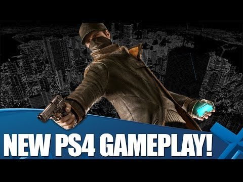 Info - Check out the brand new Watch_Dogs PS4 gameplay, plus Hollie chat's with Ubisoft's Danny Belanger about hacking, online, and PlayStation exclusive content. T...