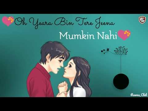 Video Phir Mujhe Dil Se Pukar Tu Song    New WhatsApp Status Video    R@w@s Club download in MP3, 3GP, MP4, WEBM, AVI, FLV January 2017