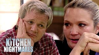 Brother, Sister and father are all not talking. Gordon sits down with them and tries to patch things up.If you liked this clip check out the rest of Gordon's channels:http://www.youtube.com/gordonramsayhttp://www.youtube.com/thefwordhttp://www.youtube.com/kitchennightmaresMore Gordon Ramsay:Website: http://www.gordonramsay.comFacebook: http://www.facebook.com/GordonRamsay01Twitter: http://www.twitter.com/GordonRamsay