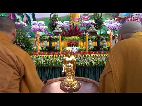 Lễ tắm Phật mừng Phật đản