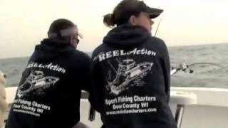 Reel Action Sportfishing Charters in Sturgeon Bay Wisconsin