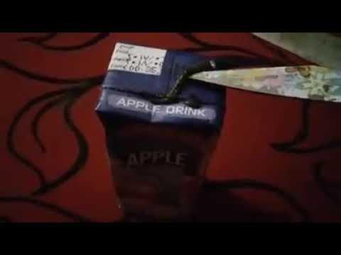 شاهد ماذا بالفيديو ماذا وجد شخص داخل علبه عصير