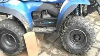 7. 1996 Polaris 425 Magnum 4x4~4 wheeler ATV Changing the Chain
