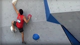 Action from the qualis in Vail by OnBouldering