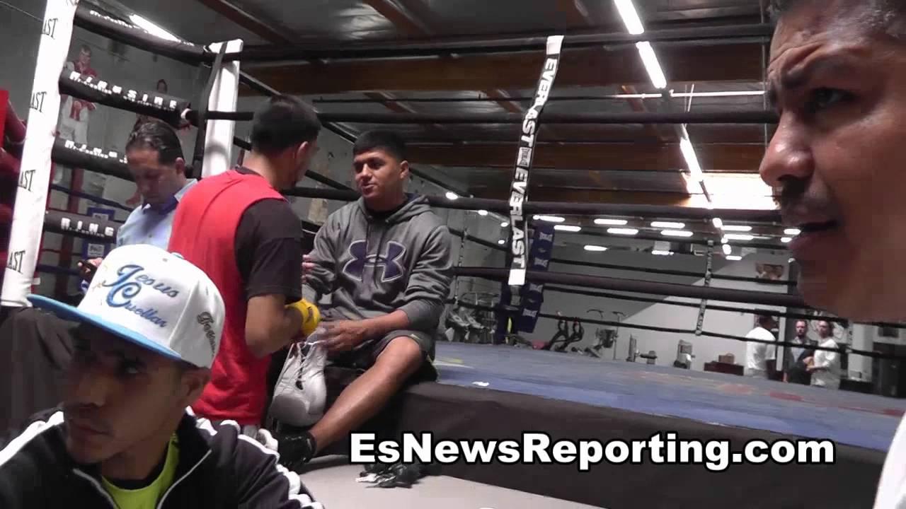robert garcia on his fav fighter EsNews Boxing