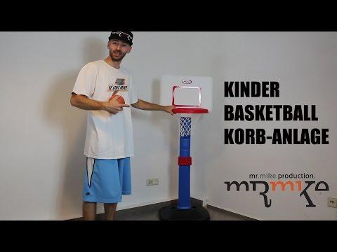 Kinder Basketball Korbanlage für Zuhause