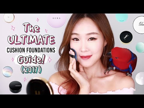 Video ULTIMATE Cushion Foundations Review & Guide 2017 | By Skin Type: Top 30 & Extra Tips/Info | meejmuse download in MP3, 3GP, MP4, WEBM, AVI, FLV January 2017