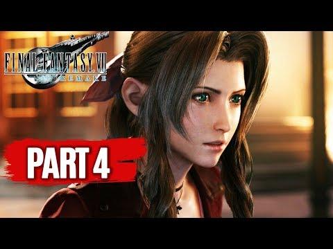 FINAL FANTASY 7 REMAKE All Cutscenes (PART 4) Game Movie 1080p 60FPS