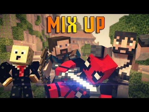 РАЗНОЦВЕТНЫЕ ГРИБЫ (MIX UP MineCraft MiniGame)