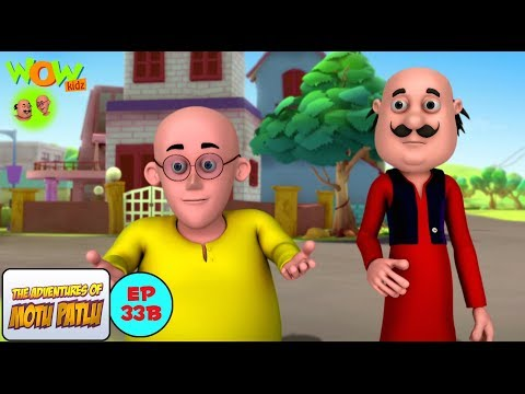 Wajan - Motu Patlu in Hindi - ENGLISH, FRENCH & SPANISH SUBTITLES! - 3D Animation Cartoon for Kids