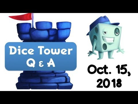 Live Q & A With Tom Vasel - October 15, 2018