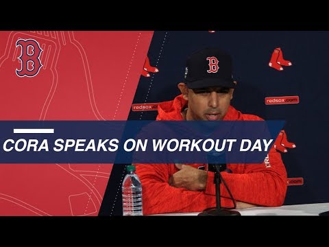 Video: WS2018 Gm1: Cora on Betts at 2B, Kimbrel's role