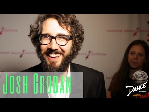 Dance Network Speaks with Josh Groban | National Dance Institute (видео)