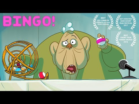 BINGO! - hilarious award winning animated comedy (видео)