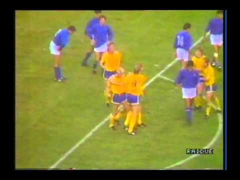 qualificazioni euro '88: italia-svezia 2-1!