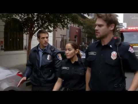 Station 19 1x01 girl trapped