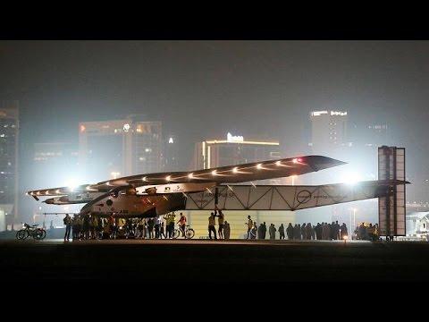 Θριαμβευτική ολοκλήρωση της «περιπέτειας» του Solar Impulse