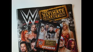 WWE The Ultimate Collection Sticker Album