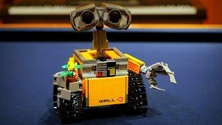 [ASMR] Binaural Lego Building: WALL-E