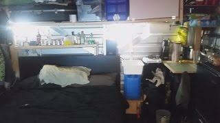 This Dude Shows You How He Lived in a Storage Locker for Two Months