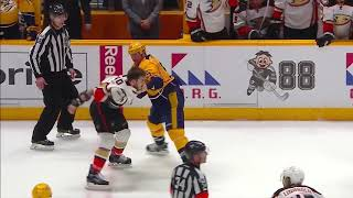 NHL: Fights After Hits