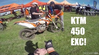 7. 2016 KTM 450 EXC Test Ride! Wheelie Power!