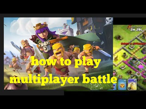 How to play clash of clans multiplayer battle/ townhall 7