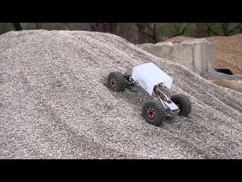 Lunar Rover Testing: Killer Krawler