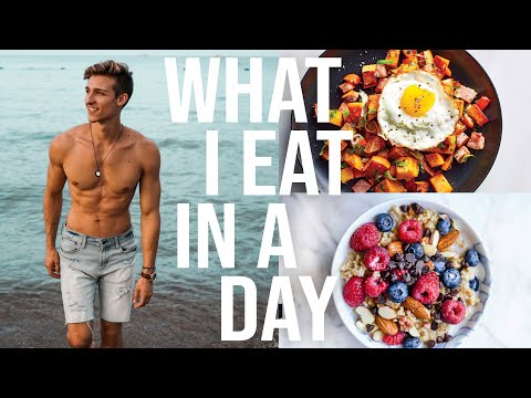 What I Eat In A Day (how i got my abs) | KYLE NUTT