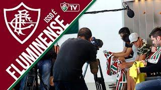 Confira o segundo bastidor das sessões de fotos e filmagens para divulgação da nova camisa do Fluminense. Gravado em 06/07/2017