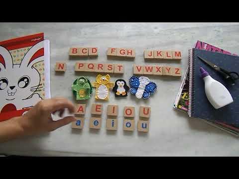 Como ensinar a ler _   Alfabetização Para Crianças _ Aula 1 _  O ALFABETO