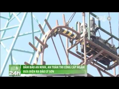 Đảm bảo an ninh, an toàn thi công cáp ngầm đưa điện ra đảo Lý Sơn