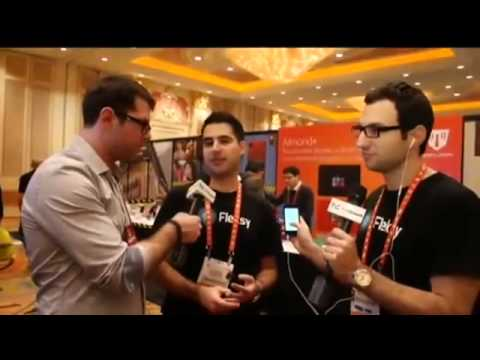 Fleksy Keyboard First Look and Demo | TechCrunch At CES 2013