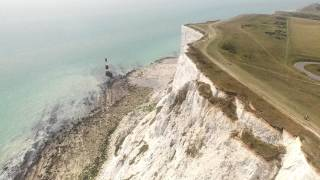Eastbourne United Kingdom  city pictures gallery : Beachyhead, White Cliffs, Eastbourne, England, UAS aka Drone