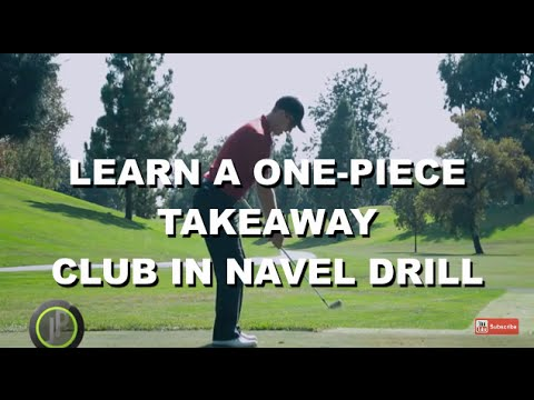 Improve Your Golf Swing Takeaway & Backswing – Club in Navel Drill