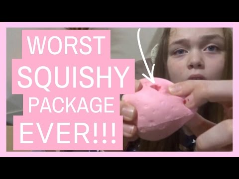 Video WORST SQUISHY PACKAGE EVER!!! | I WAS SCAMMED!!!! download in MP3, 3GP, MP4, WEBM, AVI, FLV January 2017