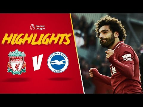 Highlights: Liverpool V Brighton | Salah Scores Again & A 'Boss' New Song For Naby Keita