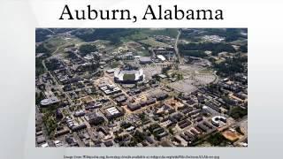 Auburn (AL) United States  City pictures : Auburn, Alabama