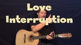 Love Interruption (Jack White) Easy Guitar Lesson How to Play Tutorial