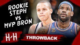 MVP LeBron James vs Rookie Stephen Curry EPIC Duel Highlights (2010.01.11) - LBJ Blocks Steph!