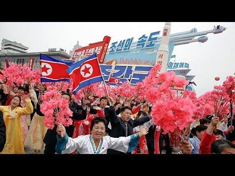 Β. Κορέα: Θριαμβευτικό κλείσιμο του συνεδρίου του Κόμματος των Εργατών