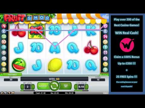 Fruit Shop Slots – Play Fruit Slots at Wicked Jackpots for Big Wins!