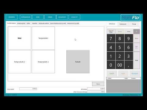 Introduktion till MoreFlo kassa för Windows
