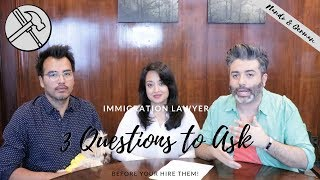 Video 3 Questions to Ask BEFORE You Hire an Immigration Lawyer | Green Card Through Same Sex Marriage MP3, 3GP, MP4, WEBM, AVI, FLV Juli 2018