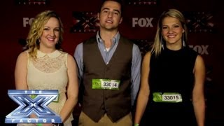 Yes, We Made It! The Bundys - THE X FACTOR USA 2013