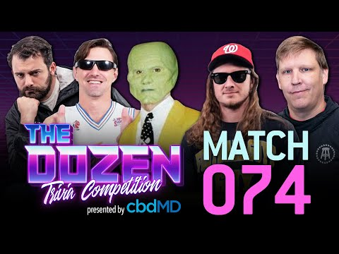 Crazy Trivia Battle In One of the All-Time Best Matches (Ep. 074 of 'The Dozen')